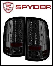 Spyder GMC Sierra 07 13 LED Tail Lights Smoke