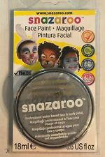 Snazaroo Metallic Face Paint, 18ml, Silver Silver Metallic Brand New