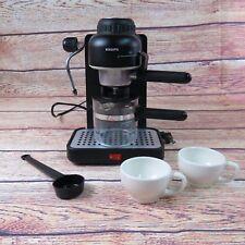 Krups Espresso Mini Cappuccino Maker Machine 963 Black With Attachments