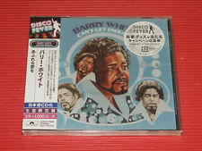 2018 DISCO FOREVER BARRY WHITE Can't Get Enough   JAPAN CD