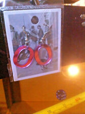 Letter O Initial Earrings New Pinky Reflective Tiger Olivia Olga Odessa Onyx
