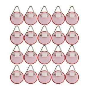Invisible Adhesive Plate Hanger Set Vertical 20pcs Plate Holders for The Wall Di