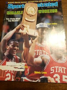 Sports Illustrated - Thurl Bailey - April 11, 1983 -(M20A)