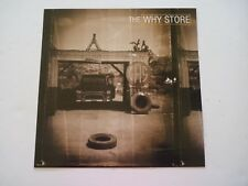 The Why Store Cardboard LP Record Photo Flat 12X12 Poster