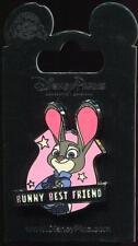 New Zootopia Judy Hopps BFF Bunny Best Friend Disney Pin