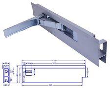 Einbau Riegelverschluss Bordwandverschluss mit Anschlag 400mm links