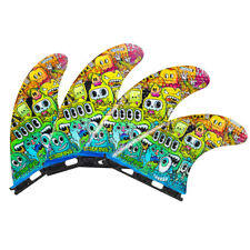 New listing 3Dfins - Quad Monsters (Futures) - Medium - Thruster - Surfboard Fins - New