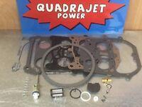 Quadrajet Marine Rebuild Kit. Complete! Best quality kit available
