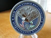 NYPD Intelligence Bureau 73rd United Nations General Assembly Challenge Coin