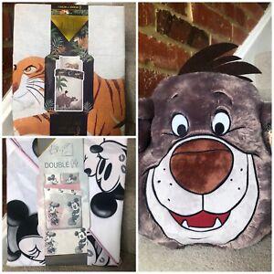 PRIMARK HOME BEDDING DISNEY DUVET SET Winnie the Pooh, MICKEY MOUSEBALOO CUSHION