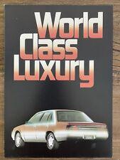 1984 Holden Calais original Australian sales brochure