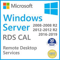Remote Desktop Services License Windows Server 2019➖2016➖2012 R2➖2008 R2 RDS CAL