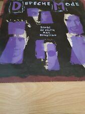 "12"" Vinyl LP  - Depeche Mode  - Songs Of Faith And Devotion"