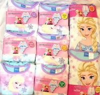 Disney Frozen 2Pc Sleepwear Kids Girls Flannel Sleep Pajamas Elsa Baby Nightwear