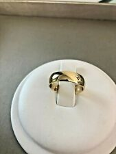 Comfort Fit Wedding Band. Size 9 Pre-owned 14K Yellow gold, Men's 6mm