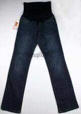 NEW Women's Maternity Clothes Denim Jeans Flex Panel Blue Liz Lange NWT Size 8