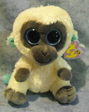 Ty Beanie Boos 36002 Bananas Monkey. Shipping. Brand New.
