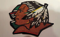 "UND University of North Dakota Fighting Sioux  iron on embroidered patch 3"" x 3"""