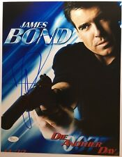 Signed 11x14 Photo Toby Stevens james Bond: Die Another Day