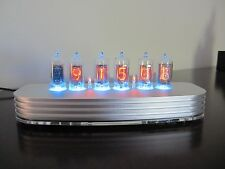 PV Electronics QTC, Nixie tube clock+ Z5700 Tubes In solid billet Aluminium Case