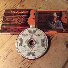 JERRY JEFF WALKER Navajo Rug CD 10 Track Rykodisk RCD 10175 U.S. 1991
