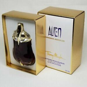 Thierry Mugler Alien Essence Absolue 2.0 Oz 60 ml Eau De Parfum Refillable Stone