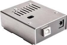 Kksb - 110222-Arduino Uno Metal Case-noir et acier inoxydable
