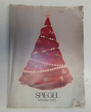 vintage 1977 spiegel CHRISTMAS WISH BOOK CATALOG mego shogun barbie GI Joe