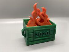 2020 Dumpster Fire Christmas Ornament