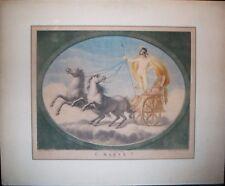 STAMPA ANTICA-MARTE SUL CARRO-RAFFAELLO-BETTELINI-TOFANELLI-1780-ACQUAFORTE