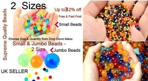 10000 ORBEEZ  JUMBO WATER CRYSTAL MULTI DECOR GIFT GEL VASE BEADS UK SELLER FAST