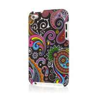 MPERO SNAPZ Series Case for Apple iPod Touch (4th Gen) - Black Paisley