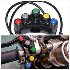 "Universal 7/8""22mm Motorbike Handlebar Multifunction Switch Horn Fog Lamp On-Off"