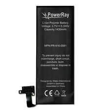 PowerRay Handy Akku Batterie PR-616-0581, 1430 mAh für Apple iPhone 4S, battery
