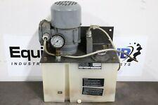 Mecafluid Oil Pump Lubrication System Tank Type GR.200.LPV.01