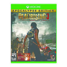 Dead Rising 3: Apocalypse Edition Game Disc & Case Excellent Condition! Xbox One
