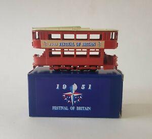 Festival of Britain 1951 N gauge 2mm die cast tram