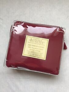 NEW JS Sanders 1000 Thread Count 100% Egyptian Cotton Duvet Cover Full / Queen