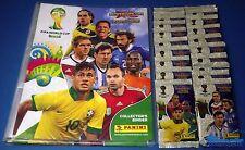 Panini Adrenalyn WM 2014 Brasilien - 10 OVP Booster + Sammelmappe