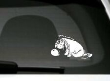 Winnie The Pooh, Eeyore, car window/bumper/panel sticker
