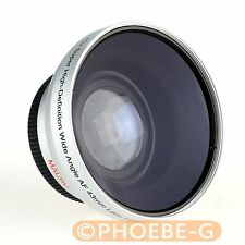 High quality! Richarm Silver 43mm 0.45x MC WIDE Angle LENS /with Macro filter