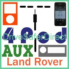 4Pod-3600-AJ-z iPod AUX Adaptor for iPhone/MP3 Land Rover Discovery 3