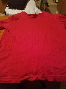 CHEROKEE XS 4-5 RED LONGSLEEVE SHIRT