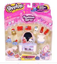 Shopkins Season 3 BEST DRESSED Collection Fashion Spree NEW DAZZLING DRESSER!