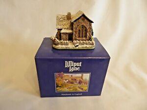 Lilliput Lane - 'Borrowdale School' - In Original Box With Deeds