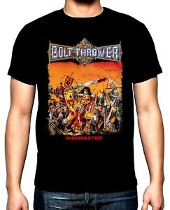 Bolt Thrower,War master,men's t-shirt,NEW,100% Cotton,Blacks