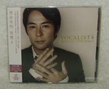 Hideaki Tokunaga Vocalist 4 Taiwan Ltd CD w/Bonus track