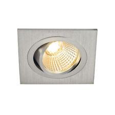 Focos de iluminación de techo de interior de aluminio color principal plata