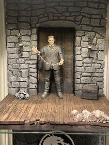 mezco one:12 / NECA Frankenstein custom 1/12 diorama