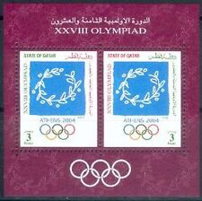 Qatar 2004 ** Bl.43 Olympische Spiele Olympic Games
